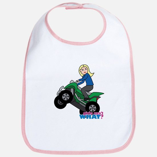 ATV Woman Blonde Bib