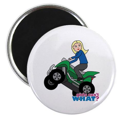 ATV Woman Blonde Magnet