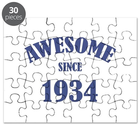 Awesome Since 1934 Puzzle