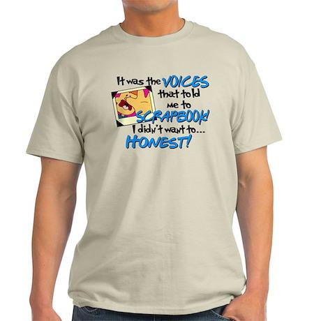 Scrapbooking Voices Light T-Shirt