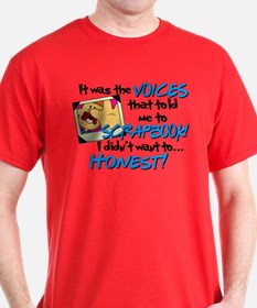Scrapbooking Voices T-Shirt