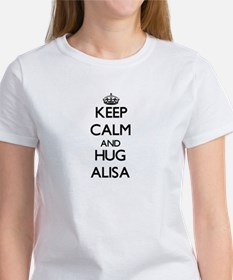 Keep Calm and HUG Alisa T-Shirt