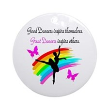 BLESSED DANCER Ornament (Round)