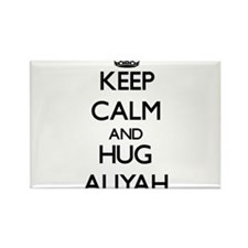Keep Calm and HUG Aliyah Magnets