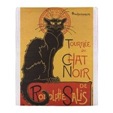 Chat Noir Throw Blanket