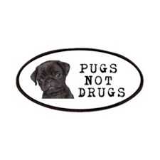 Pugs Not Drugs Patches
