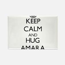 Keep Calm and HUG Amara Magnets