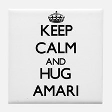 Keep Calm and HUG Amari Tile Coaster