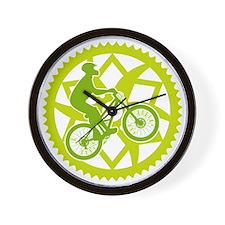 Biker Chainring Wall Clock