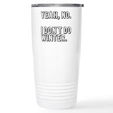 No Winter Travel Mug