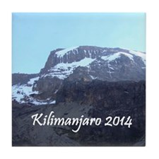 Kilimanjaro 2014 Tile Coaster