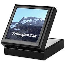 Kilimanjaro 2014 Keepsake Box