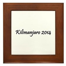 Kilimanjaro 2014 Framed Tile