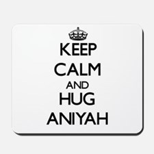 Keep Calm and HUG Aniyah Mousepad