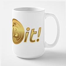 Get Bit, bitcoin Mugs