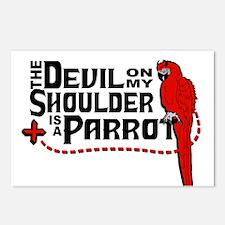 Devil Parrot Postcards (Package of 8)