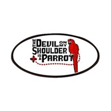 Devil Parrot Patches
