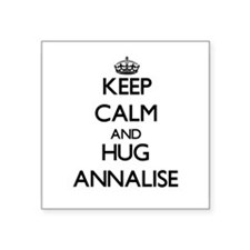 Keep Calm and HUG Annalise Sticker