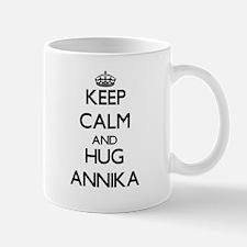 Keep Calm and HUG Annika Mugs