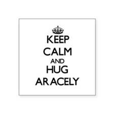 Keep Calm and HUG Aracely Sticker