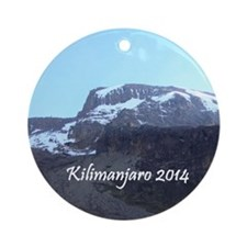 Kilimanjaro 2014 Ornament (Round)