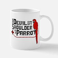 Devil Parrot Mugs