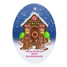 Great Granddaughter Christmas Ornament (Oval)