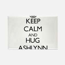 Keep Calm and HUG Ashlynn Magnets