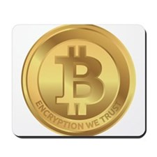 Bitcoin Encryption We Trust Mousepad