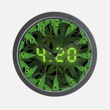 420 All Day Wall Clock