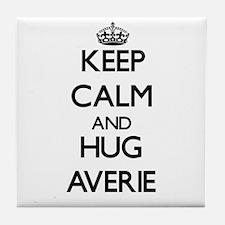 Keep Calm and HUG Averie Tile Coaster