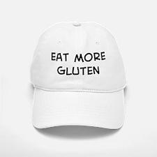 Eat more Gluten Baseball Baseball Cap