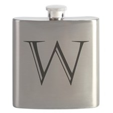 Letter W Flask