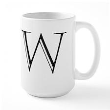 Letter W Mugs