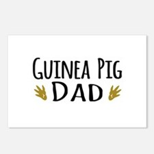 Guinea pig Dad Postcards (Package of 8)