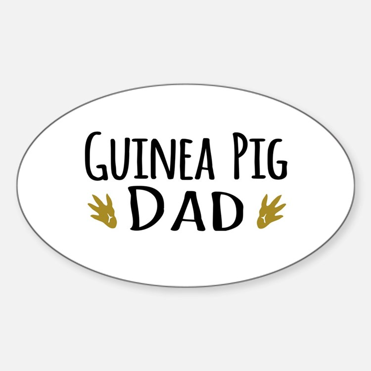 Guinea pig Dad Decal