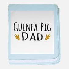 Guinea pig Dad baby blanket