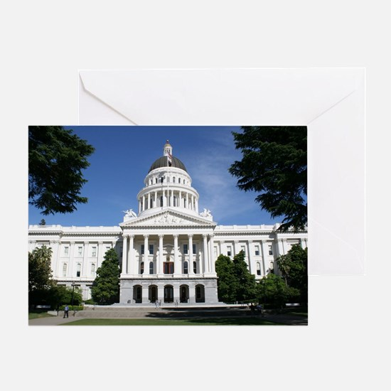 Capitol in Sacramento Greeting Card