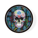 Skull clock Wall Clocks