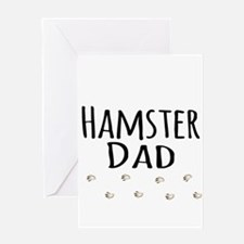 Hamster Dad Greeting Cards