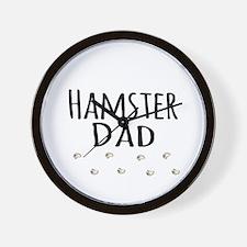 Hamster Dad Wall Clock
