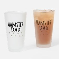 Hamster Dad Drinking Glass
