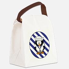 USN PENGUIN Canvas Lunch Bag