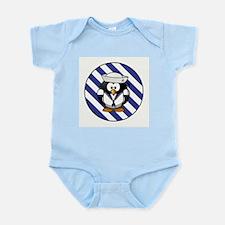 USN PENGUIN Infant Bodysuit