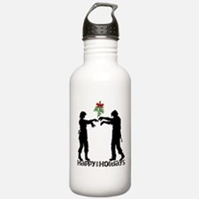 Happy Zombie Holiday Sports Water Bottle