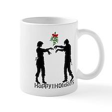 Happy Zombie Holiday Mugs