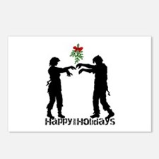 Happy Zombie Holiday Postcards (Package of 8)