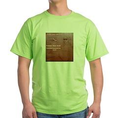 BundeArt Woodburnt Clock T-Shirt