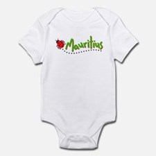 mauritius cochineal Infant Bodysuit