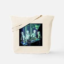 Greys aliens Tote Bag
